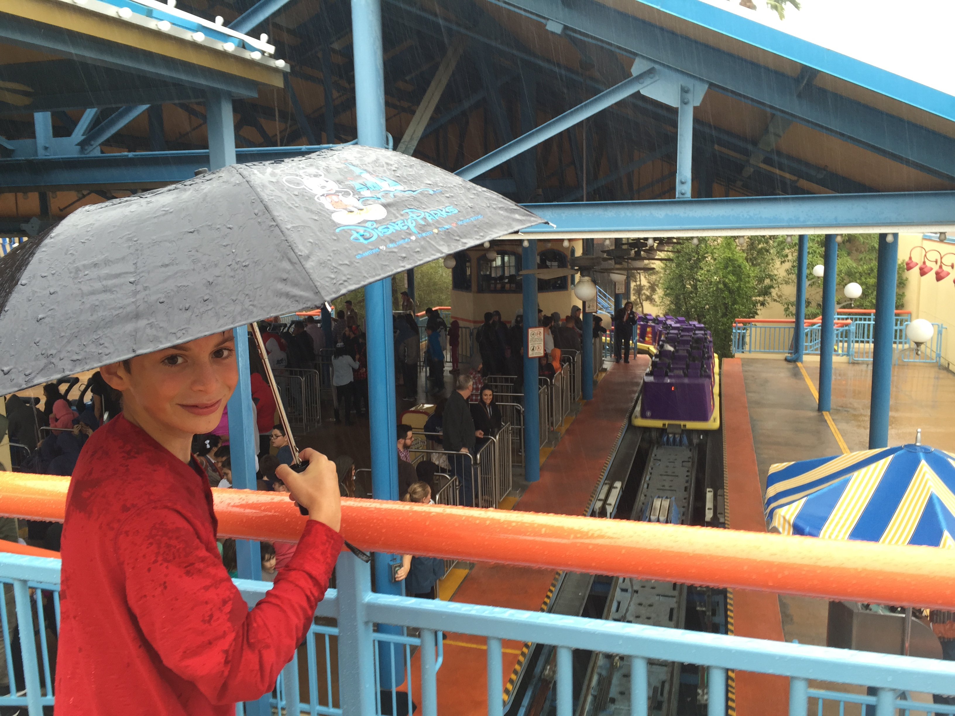 Bring it! Rainy Day fun at Disneyland. Tips to soak it all up.