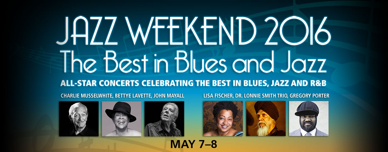 SCFTA Jazz and Blues Weekend – May 7th and 8th, 2016